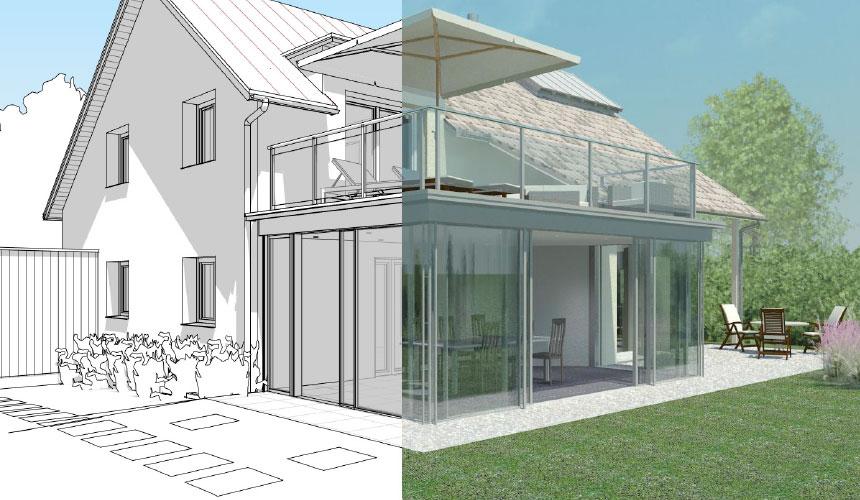 wintergarten und wohnraumerweiterung vorprojektplanung. Black Bedroom Furniture Sets. Home Design Ideas