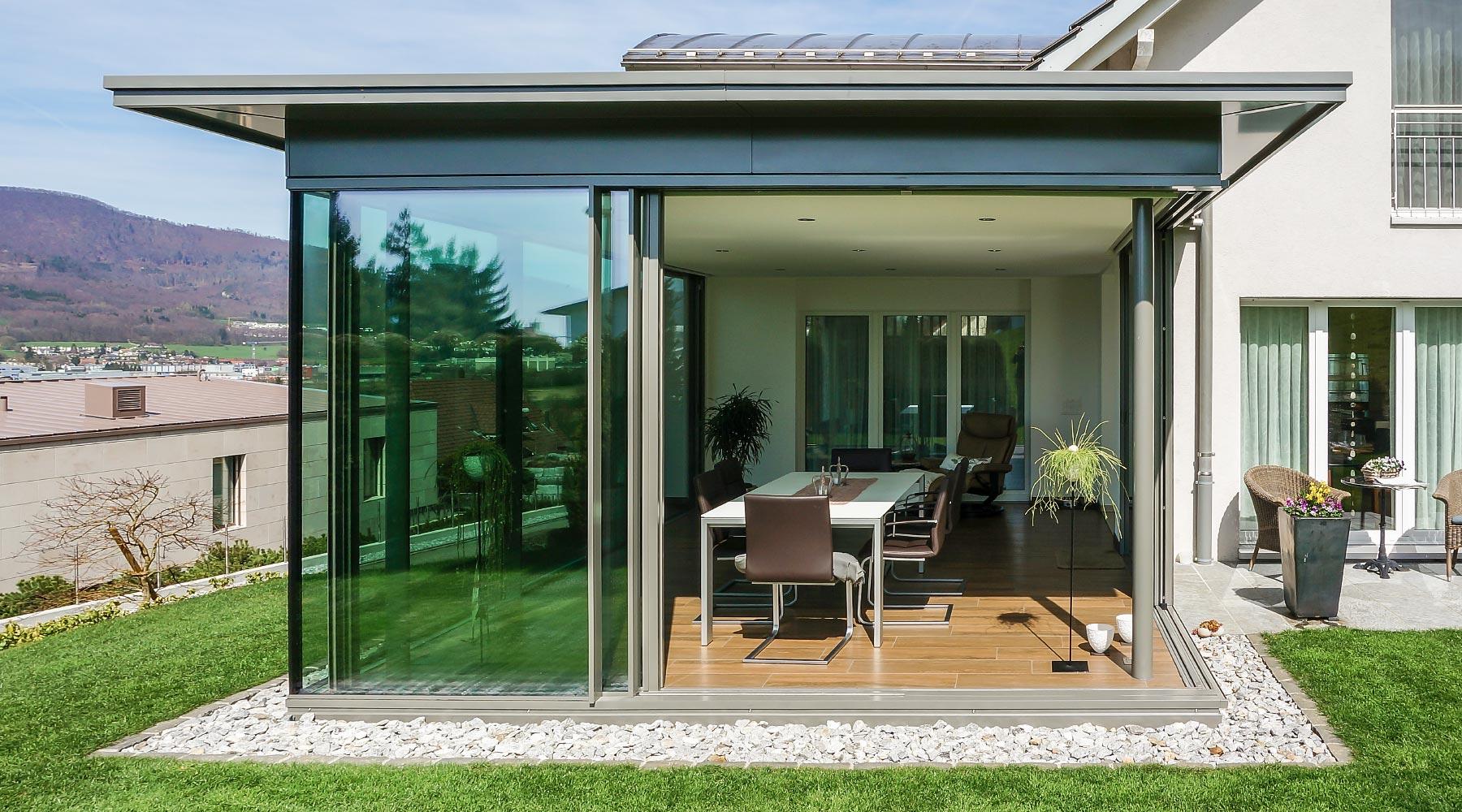 sonderangebote occasionen wintergarten zubeh r schiebewandsystem und aussenstore. Black Bedroom Furniture Sets. Home Design Ideas