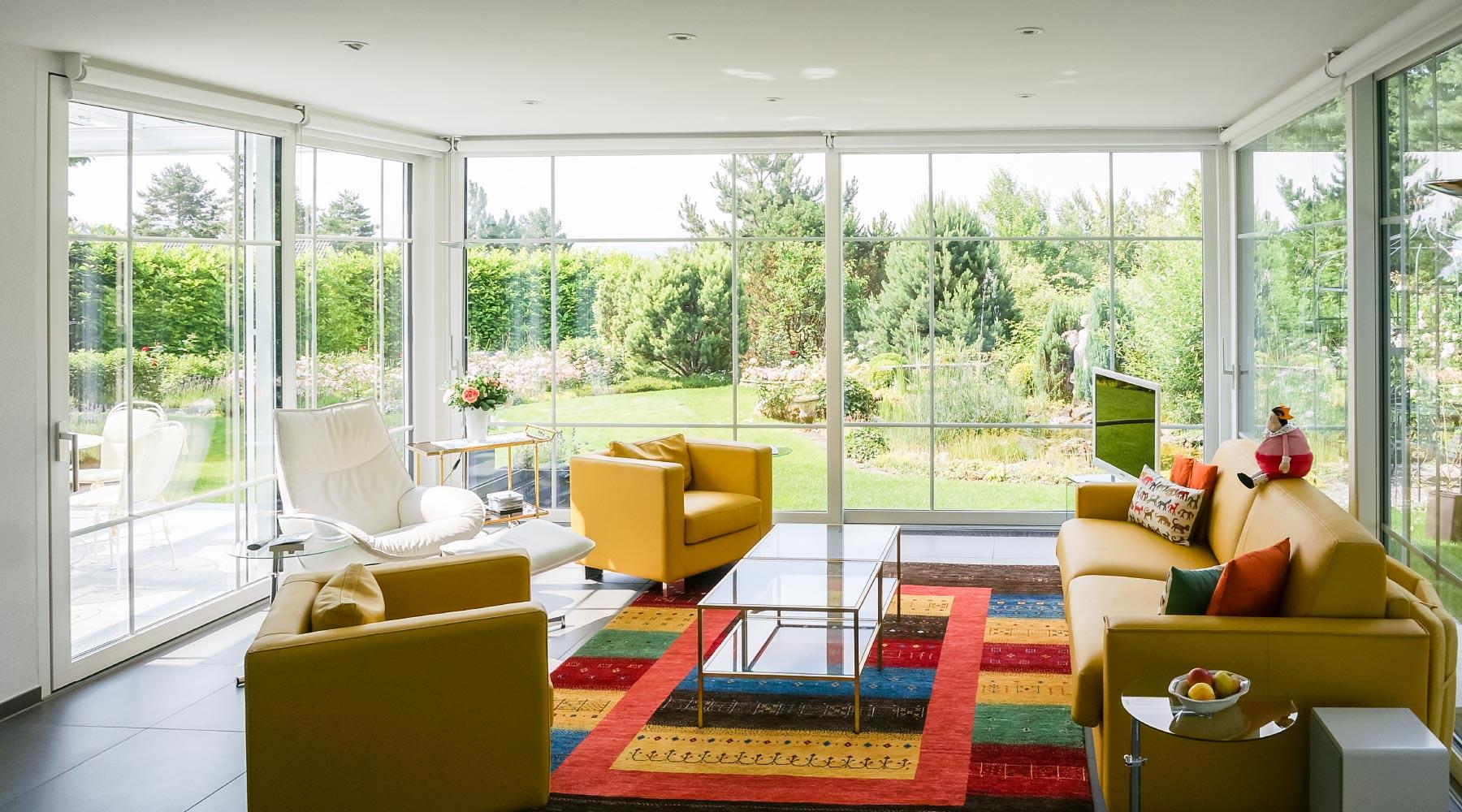 Anbauten Aus Holz Und Glas wintergarten wohnwintergarten wohnraumerweiterungen verglasungen
