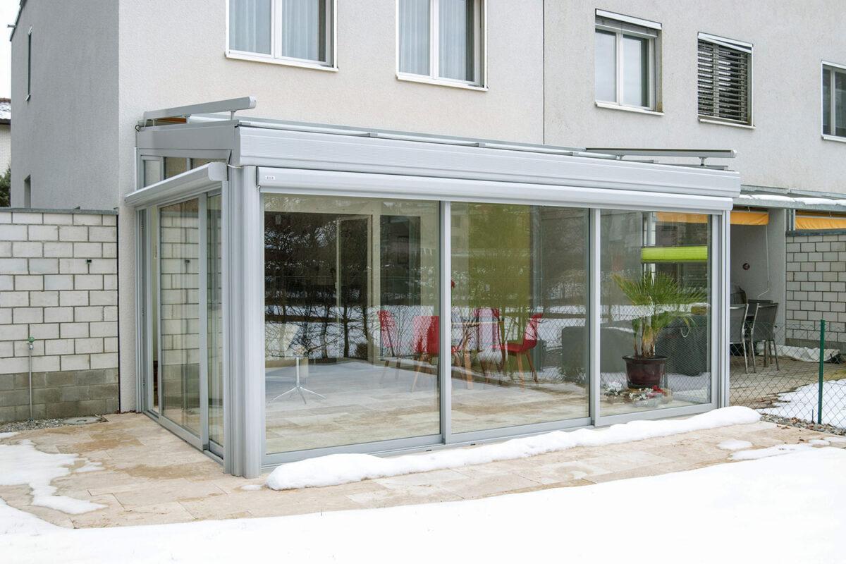 Wintergarten Hawaii80 mit Schiebefenster ISO41 von SunParadise