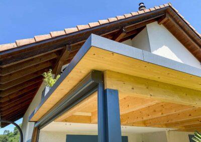 BERNA Terrassenlounge - Sitzplatzüberdachung – Terrassenüberdachung – Glasdach – Lamellenpergola – Lamellendach – Wetterschutz für Möbel – Stobag – SunParadise – Nyon – Terrado – Hawaii40 – CUBO - Schutz vor Wind, Regen und Schnee – geschützte Terrasse -