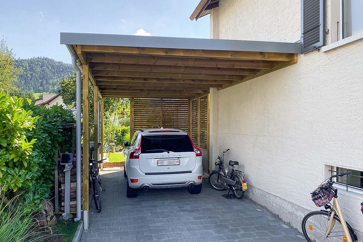Carport Karl Blaser AG