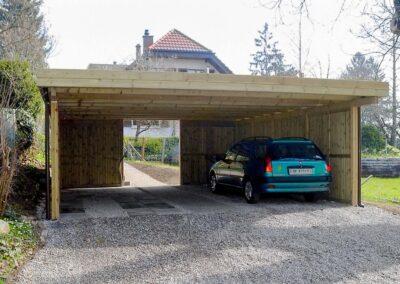 Doppelcarport Holz