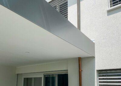 Terrassenlounge BERNA Sitzplatzüberdachung – Terrassenüberdachung – Glasdach – Lamellenpergola – Lamellendach – Wetterschutz für Möbel – Stobag – SunParadise – Nyon – Terrado – Hawaii40 – CUBO - Schutz vor Wind, Regen und Schnee – geschützte Terrasse -