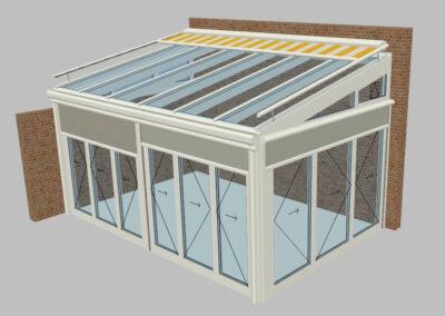 Vorprojekt Visualisierung Wintergarten