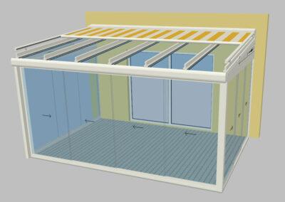 Vorprojekt Visualisierung Wintergarten Sommergarten